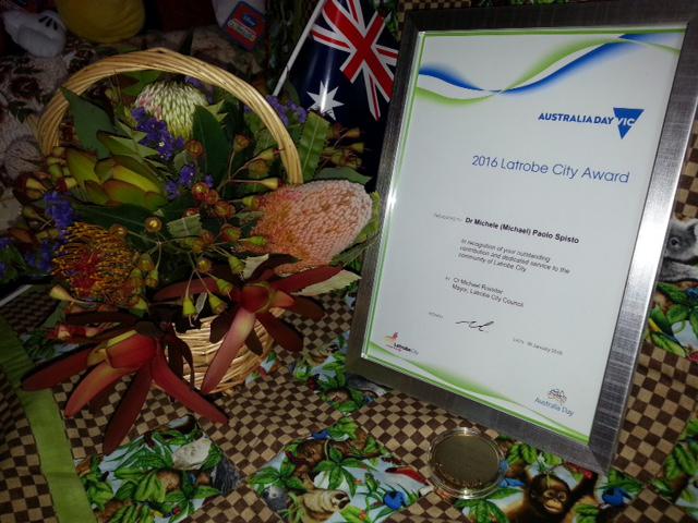 Australia Day - Framed Certificate 2