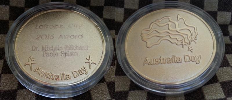 Australia Day Medal