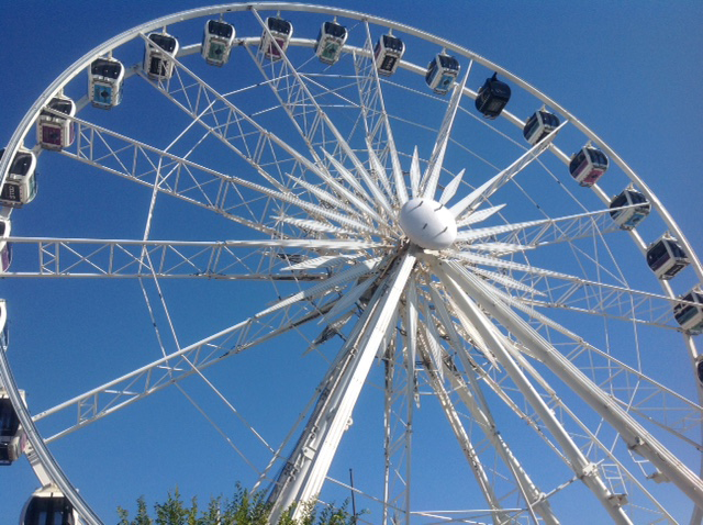 The Cape Wheel, Victoria and Alfred Waterfront, Cape Town.