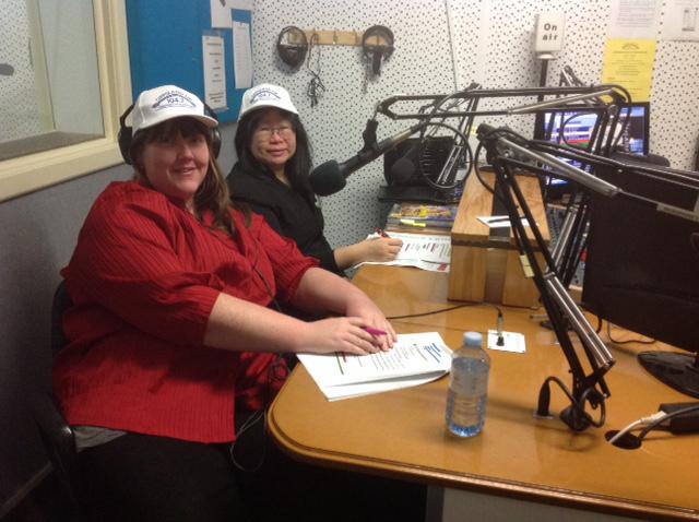 Rachel Elizabeth Jones with Dr Christine Lee