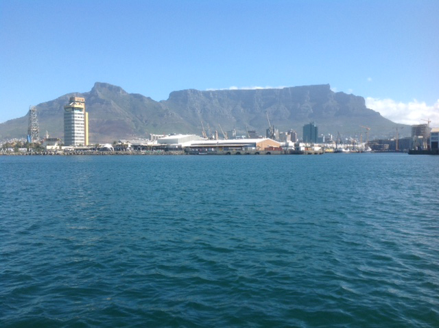 Table Mountain and Devil's Peak.