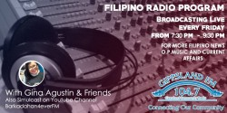 Filipino Radio Ethnic Program presented by Gina Agustin