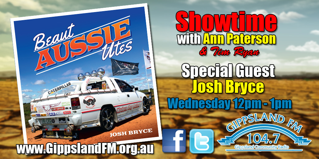 Showtime with Ann Paterson and Tim Ryan interviewing Josh Bryce