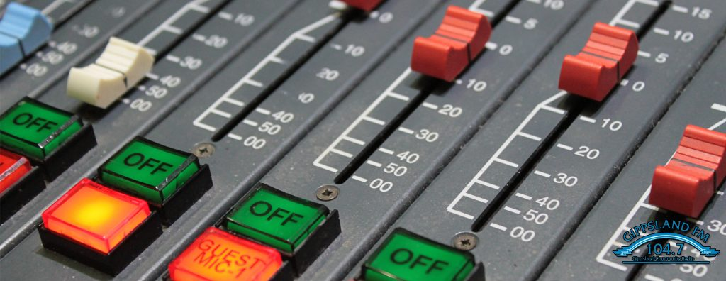Gippsland FM Mixing Console