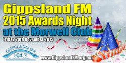 Gippsland FM 2015 Awards Night